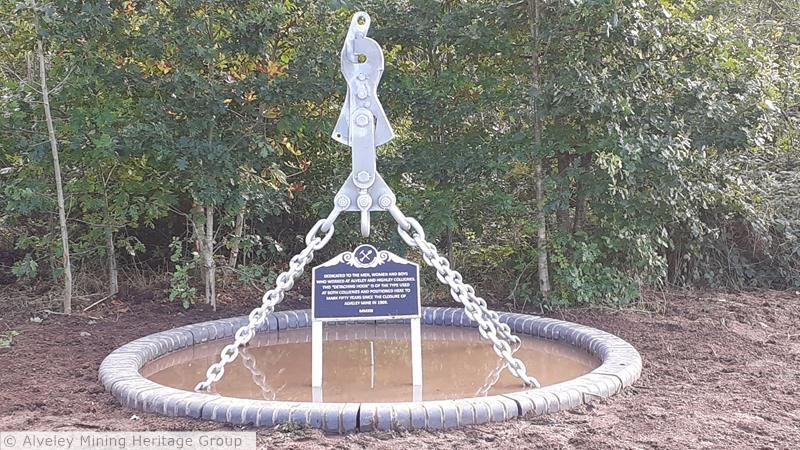 Cage Detaching Hook Memorial Sculpture