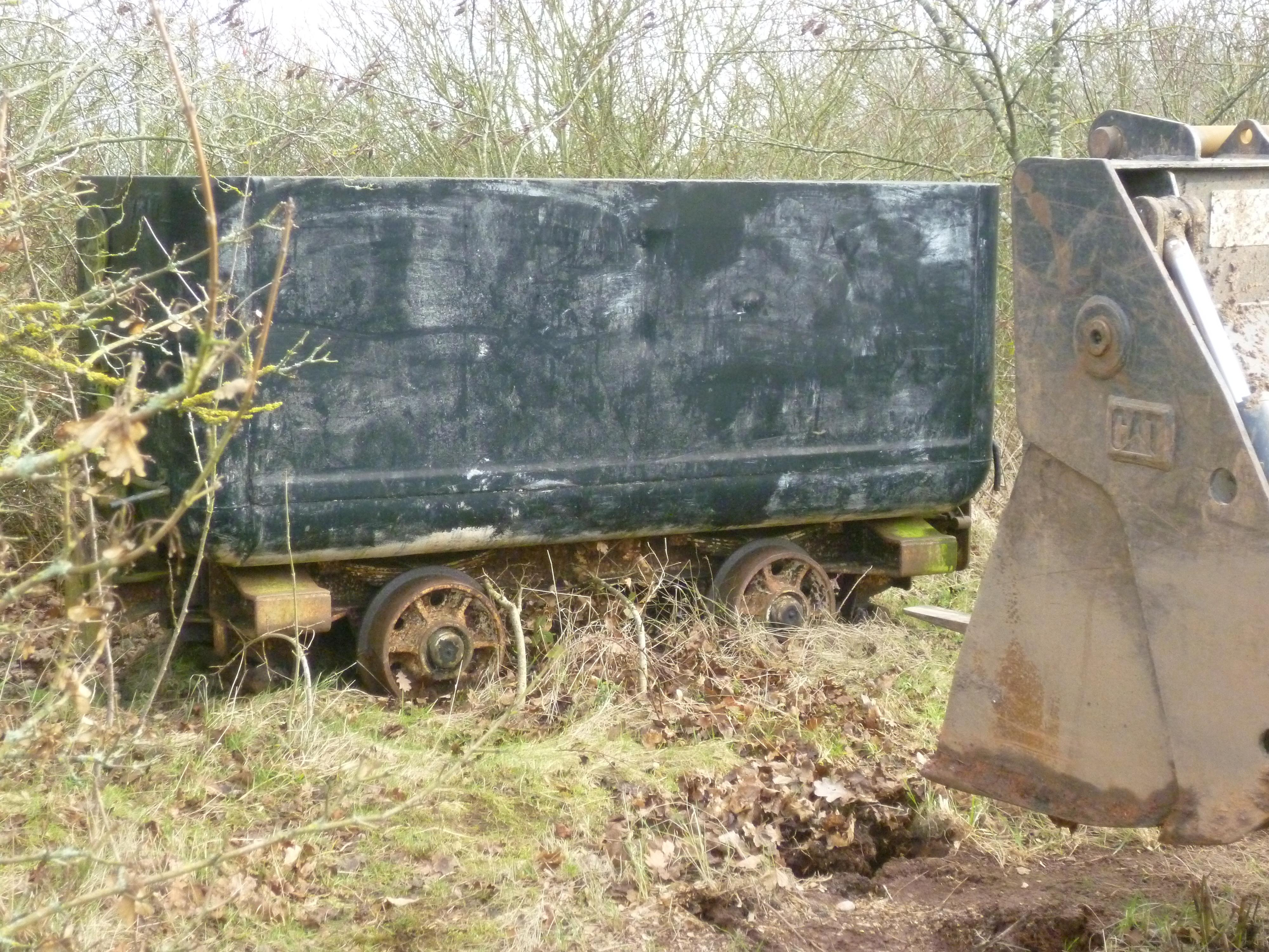 Alveley Mine Car Restoration