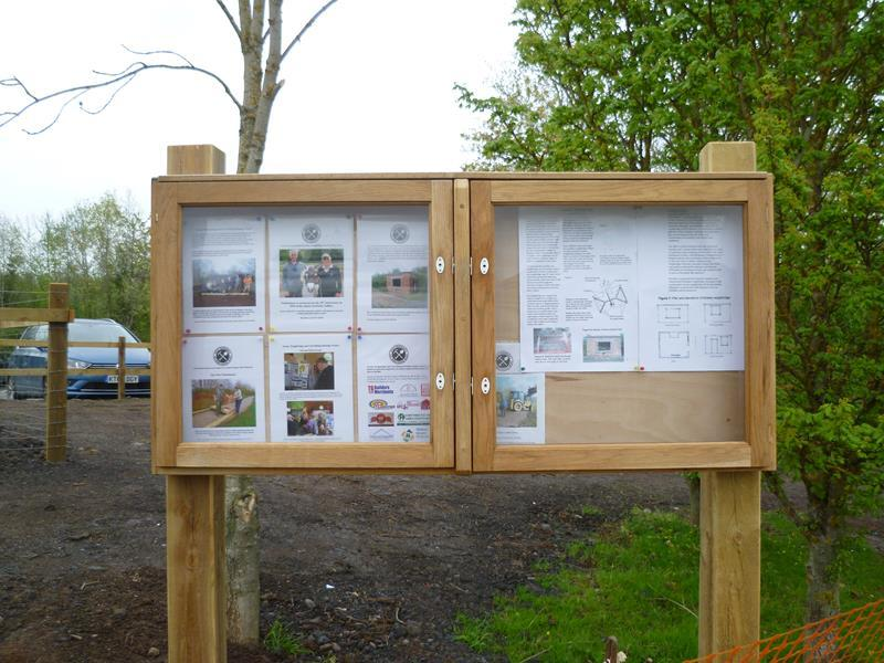 Alveley Mining Heritage notice board